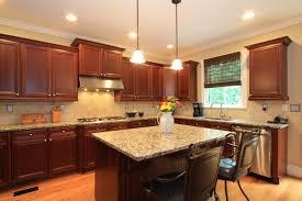 elegant kitchen design ideas with recessed lights in kitchen heavenly kitchen decoration with dark brown