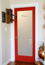 My Red pantry doors!! Used Sherwin Williams Victorious Red (flat) Ovation  paint
