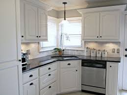 Beautiful White Kitchen Backsplash Ideas | ... White Cabinets Black And White Kitchen  Backsplash Ideas Design Ideas