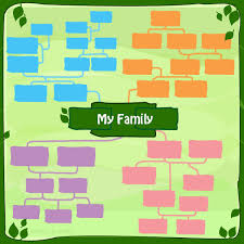 family tree layout family tree templates for children