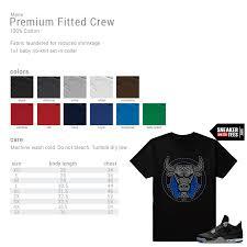 Mens T Shirt Size Chart Streetwear T Shirt Size Chart Sneakermatchtees Com