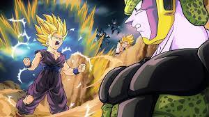 Teen gohan vs perfect cell