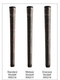 Golf Grip Size Chart Winn Winn To Know What Grip Weight To Use Hireko Custom Golf
