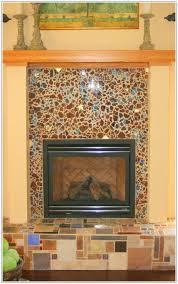 glass mosaic tile fireplace glass mosaic tile fireplace surround how to install glass mosaic tile around