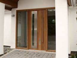Simple Modern Double Front Door Entry Doors Glass Exterior Throughout Concept Ideas