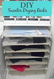 diy sweater drying racks before 3 pm