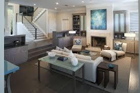 Webster Design Amanda Webster Design Modern Waterfront Living Room