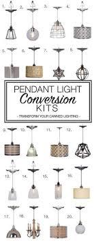 16 pendant conversion light kits ideas