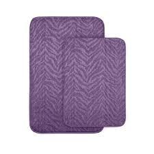 interior dark purple bathroom rugs and towels runner target purple bathroom rugs