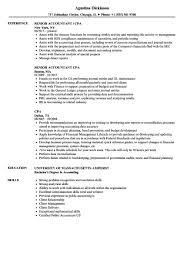 Senior Accountant Resume Senior Accountant Resume Cpa Resume Samples Velvet Jobs Cover Letter