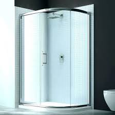 3 piece shower kit one bathrooms design stalls onyx showers corner units with designs neo angle