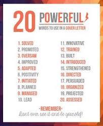 ... Sensational Resume Power Words 14 20 Resume Power Words INFOGRAPHIC ...