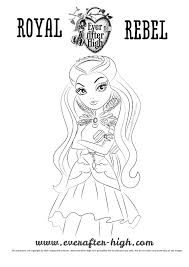 Small Picture Raven Queen coloring pages Ever After High