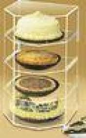Cookie Display Stand 100 Shelf Bakery Acrylic Display Case For Pies Cookie Cake Product 59