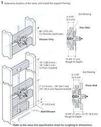 moen shower valve installation moen shower valve replacement tool
