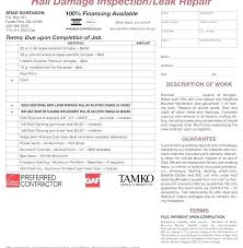Roofing Invoice Sample Roofing Contract Free Residential Roofing Contract Template