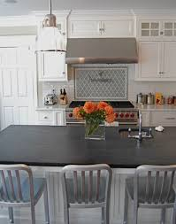 White Kitchen Countertop Slate Countertops For Your Kitchen And Bathroom