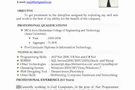 Resume format for 5 Years Experience In Net Beautiful Help Writing Resume  How to Write Up