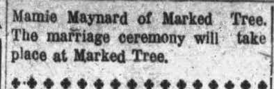 Marriage of Milton Harper and Miss Mamie Maynard-- Continued -  Newspapers.com