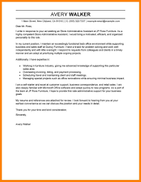 12 Administrative Assistant Cover Letter Template Letter Adress