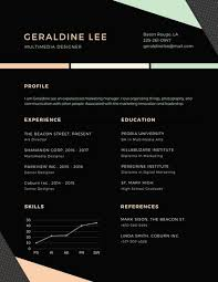 canva modern resume templates pastel and black shapes modern resume templates by canva