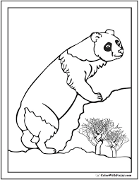Panda Bear Coloring Pages Beautiful Panda Coloring Pages Bamboo And