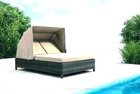 teak double chaise lounge lounger mainstays outdoor stripe seats 2 reclining with cushion hollywood
