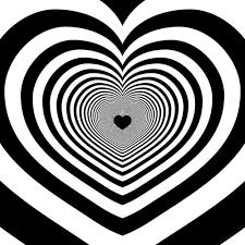 siyah beyaz yanan kalp ile ilgili görsel sonucu