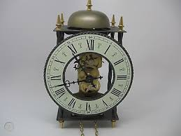 franz hermle skeleton wall clock made