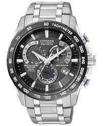 citizen men s chronograph eco drive titanium bracelet watch 43mm citizen men s chronograph eco drive titanium bracelet watch 43mm at4010 50e