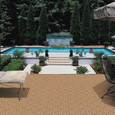 indoor outdoor carpet and rugs extend your living e outdoors above ground pool deck