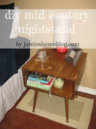 diy contemporary furniture. DIY Mid Century Modern Style Nightstand Tutorial Diy Contemporary Furniture