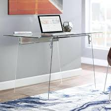 modern glass office desk. Glass Office Furniture Image Of Modern Desk Home