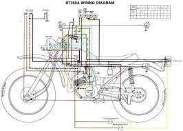 yamaha dt 250 wiring diagram wirdig diagram the yamaha dt250 electrical system and components consists of