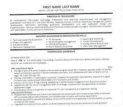 Vp Of It Resume Executive Secretary Resume Cover Letter Samples