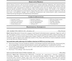 director of finance resume loan officer finance modern incredible sampleesume for trade and