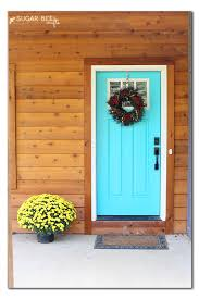 Turquoise front door Bright Dream Front Door Sugar Bee Crafts Djagios Dream Front Door Sugar Bee Crafts Turquoise Front Door Uncategorized