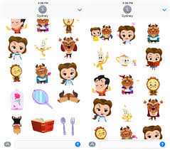 Animated Disney Emojis Are Here And Your Text Messages Will