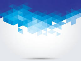 Abstract Blue Geometric Backgrounds For Powerpoint Abstract And