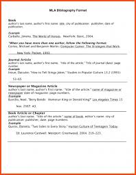 8 Bibliography Mla Format Website Bibliography Format In Mla In