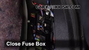 replace a fuse 2011 2016 bmw x3 2013 bmw x3 xdrive28i 2 0l 4 6 replace cover secure the cover and test component