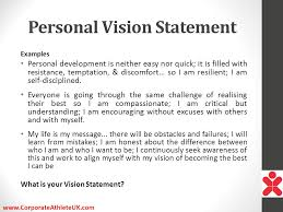 my vision statement sample the key to being extraordinary presented by ppt download