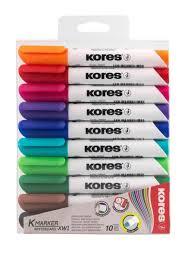 "<b>Набор маркеров</b> для белой <b>доски</b> ""KORES"", 10 шт. KORES ..."