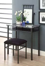 black bedroom vanities. Furniture Rectangle Black And White Glass Bedroom Vanity With Vanities