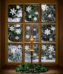 Weihnachten Schneeflocken Fensterbild Weihnachtsdeko Fensterbilder Für Winter Weihnachten Fensterdeko Set Statisch Haftende Pvc Aufkleber