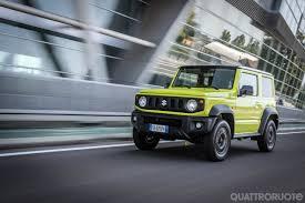 Suzuki: già esaurite le Jimny destinate all'Italia per il 2020