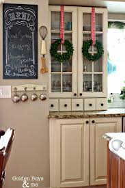 Kitchens Decorated For Christmas Golden Boys And Me Christmas In The Kitchen