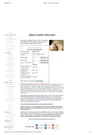 Breastfed Baby Growth Calculator Pdf Format E Database Org
