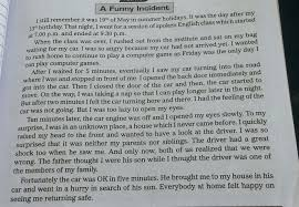 essay on any unusual or humorous incident you have witnessed   jpg