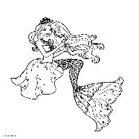 Barbie La Principessa Delle Perle Da Colorare 3471